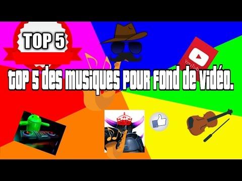 Top 5 des musiques pour fond de vidéo.