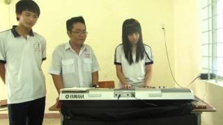 Tìm lại bầu trời ( cover ) - Duy Thông ft Hữu Nhân - Organ by Lan Thy