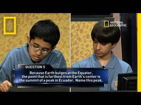 2013 National Geographic Bee's Final Moments | National Geographic