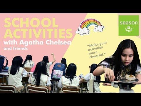 Season Bags X Agatha Chelsea | School activities | Make your activities more cheerful | @seasonbags