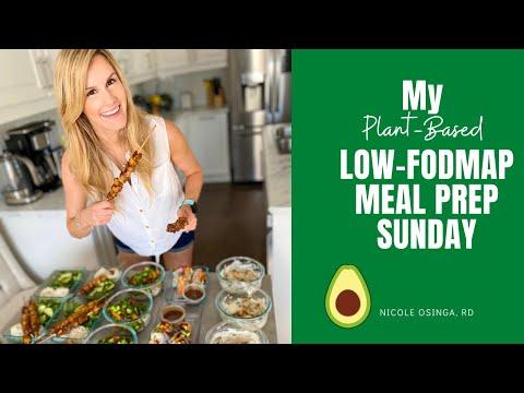 Low-FODMAP Plant-Based Meal Prep Sunday
