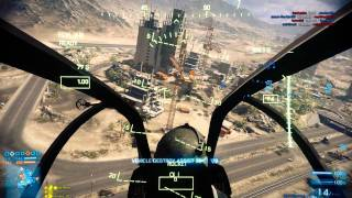 Battlefield 3 - AH-1Z Viper Gameplay