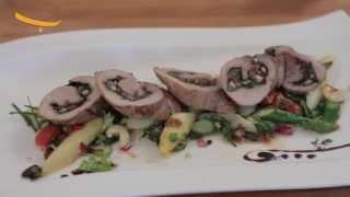 Schweinefilet mit Trockenfrüchten und Nüssen