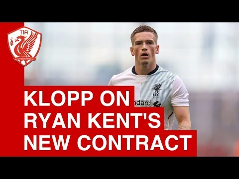 Jurgen Klopp on Ryan Kent's New Liverpool Contract