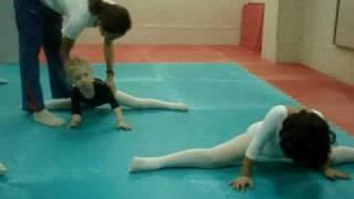 Художественная гимнастика. Шпагат