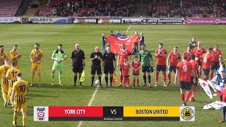 GOALS: York City 2-2 Boston United