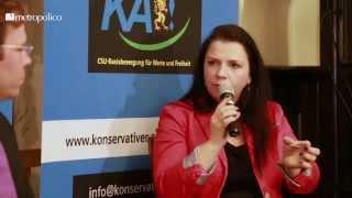 Birgit Kelle zu Gender Mainstreaming beim Konservativen Aufbruch