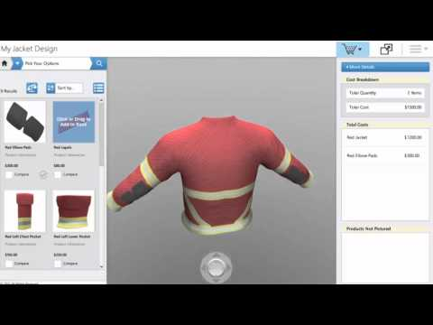 Apparel Configurator - Powertrak 3D Product Configurator Software