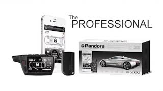 Pandora Car Alarms - Professional DXL 5000 remote key fob UK