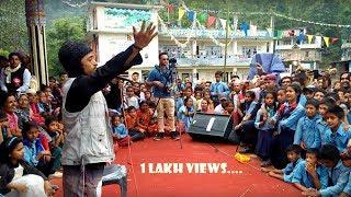 बल्छी ध्रुबेले लास्टै हसाए  कहिले मन्जु को काखमा कहिले पार्वती को BalchhiDhurbeyThumpakhar,Patidada