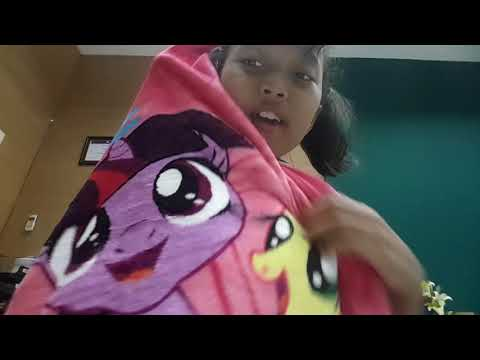 Buka  Barang  Dari  Lazada  Selimut    My  Little  Pony 🤗🤗😘😘