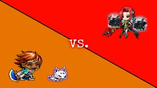 Maplestory - Kanna vs. Hard Hilla