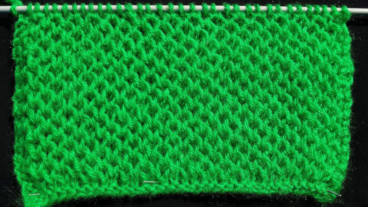 Honeycomb Stitch in a Easy and Different Way - YouTube
