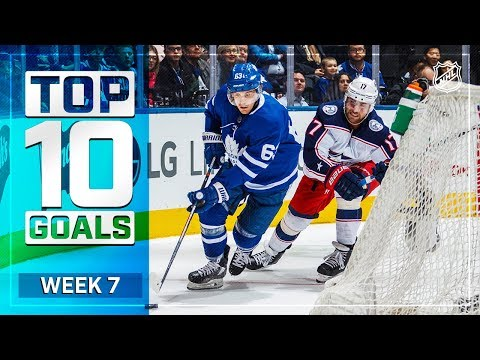 Top 10 Goals from Week 7
