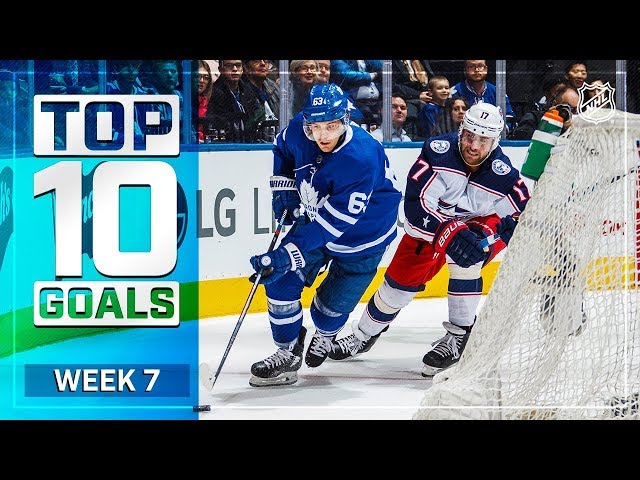 Top 10 Goals from Week 7