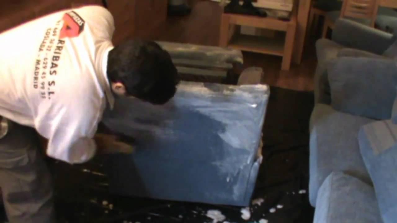 Limpieza de sillas sillones y butacas youtube - Limpieza sofas a domicilio ...