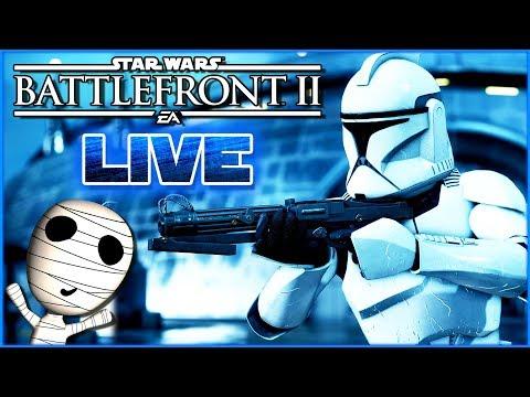 Angriff der Klonkrieger! 🔴 Star Wars: Battlefront II // PS4 Livestream thumbnail