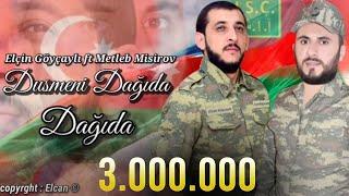 Elcin Goycayli - Dusmeni Dagida Dagida  Metleb Misirov (Lyric Audio)