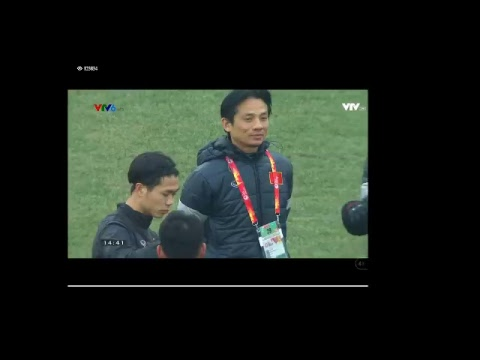 Trực tiếp U23 Việt Nam - Qatar