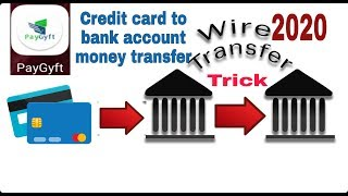 Paygyft wallet to bank account money transfer instant Credit your bank account Credit card to bank a