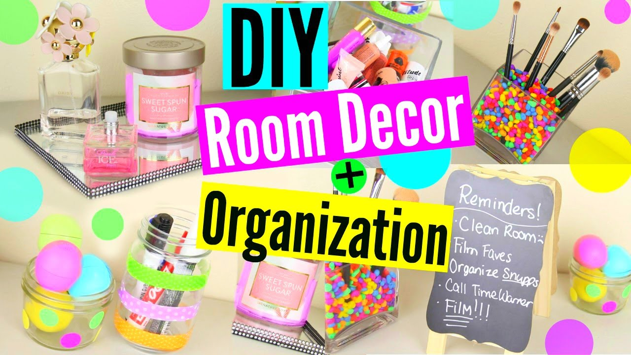 Diy room decor organization storage keep your room for Room decor organization