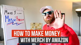 Make Money With Merch By Amazon Get Paid To Design TShirts