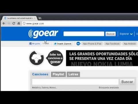 Goear.com - Escucha música sin restricciones