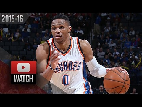 Russell Westbrook Full Highlights vs Hornets (2016.01.20) - 16 Pts, 15 Ast, 8 Reb