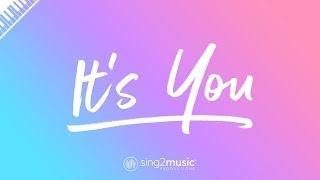 It's You (Piano Karaoke) Ali Gatie