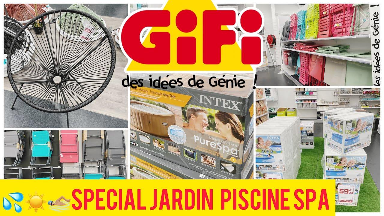 Gifi Arrivage Jardin Piscine Spa Parasols Youtube