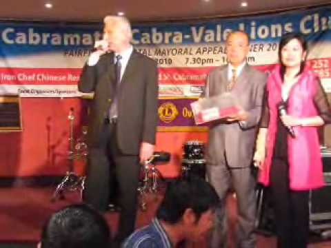 Fairfield Mayor Sings Karaoke
