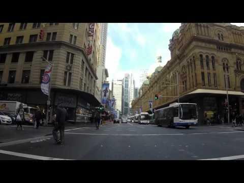 Australie Sydney Centre ville, Gopro  / Australia Sydney city center, Gopro