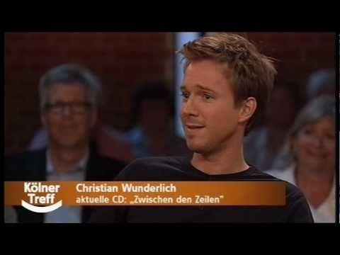 Christian Wunderlich  Interview in der Talkshow Kölner Treff