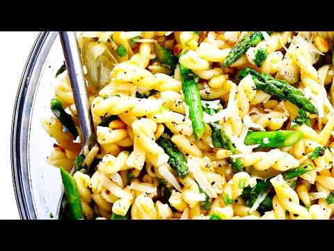 Lemony Artichoke Pasta Salad