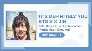 [Phiên âm Tiếng Việt] It's You Even If I Die - BTS V x Jin (Hwarang OST)