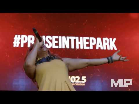 Erica Campbell LIVE AT Praise In The Park 2017