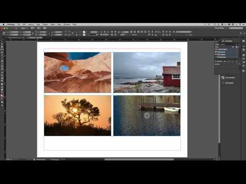 Automatically Generate Live Captions under your photos in InDesign