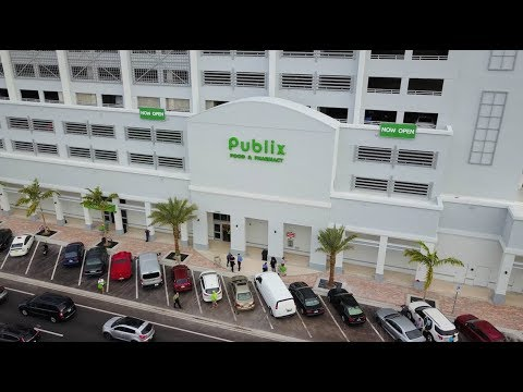 New Publix Super Market Opens in Downtown Hollywood