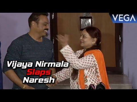 Vijaya Nirmala Speaks About Ghatana Movie and Slaps Naresh