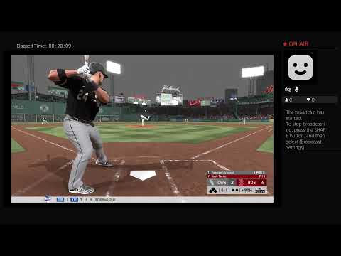 TheBranMan86's Live PS4 White Sox Vs Red Sox