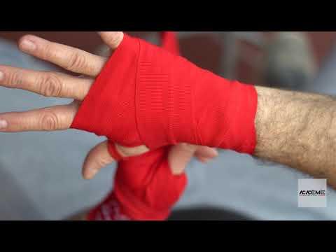 Comment mettre les bandages (hand wraps)