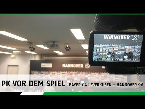 RE-LIVE | Die PK vor dem Spiel | Bayer 04 Leverkusen - Hannover 96
