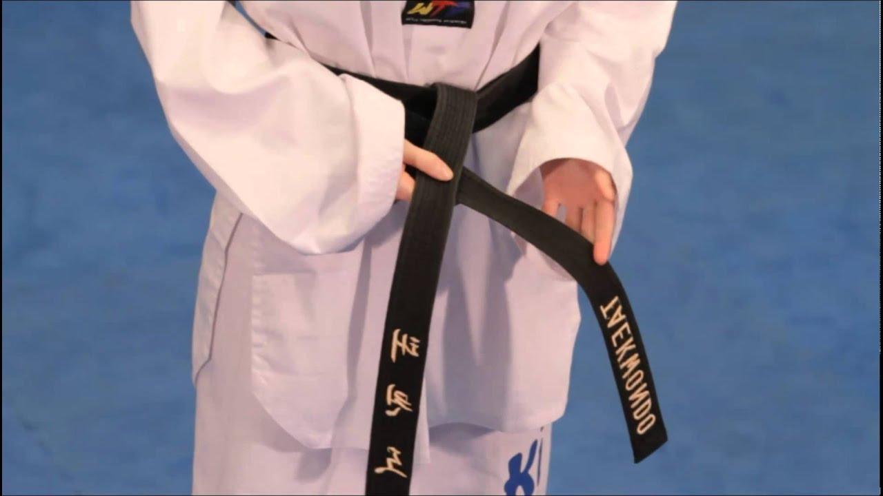 How To Tie Your Taekwondo Belt Correctly