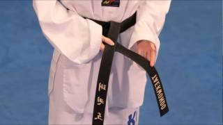 How to tie your Taekwondo Belt Correctly.
