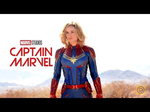 CAPTAIN MARVEL    2019 Brie Larson Samuel L. Jackson Movie  Marvel Studios MADE