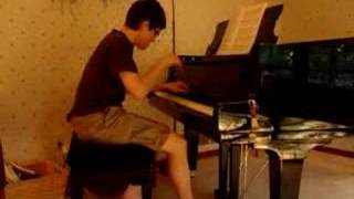 Nik playing Chopin