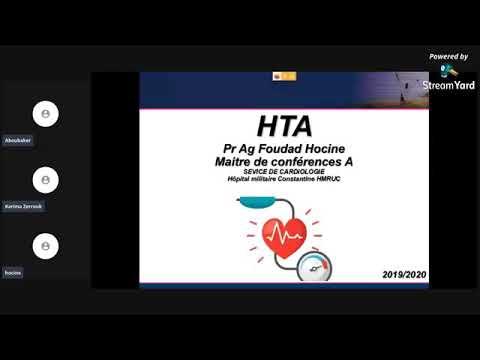 Download Le cours de HTA partie -1- . Dr foudad