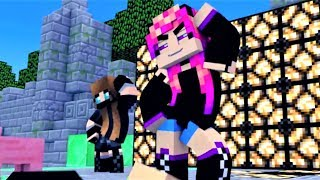 minecraft girls animation