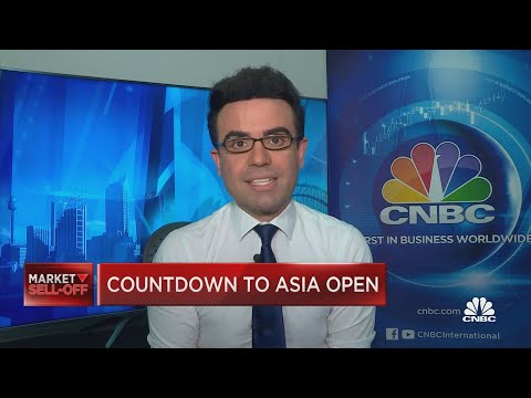 Here's what to expect for Asia's market open