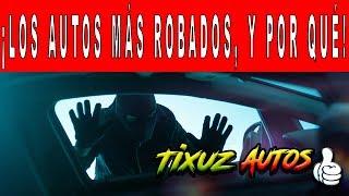 Los vehículos más robados en México.